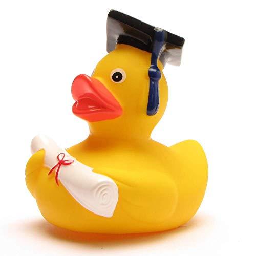 lustige Akademiker Badeente mit Diplom - Quietscheentchen...