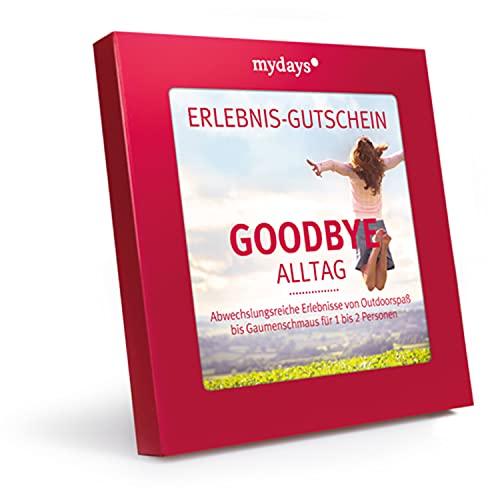 mydays Erlebnis-Gutschein Goodbye Alltag, über 200...
