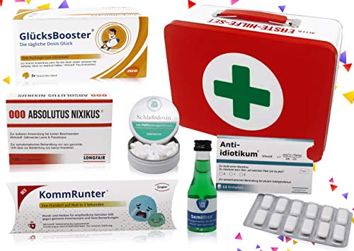 Geburtstags-Geschenk   Erste Hilfe Set Geschenkbox, witziger...