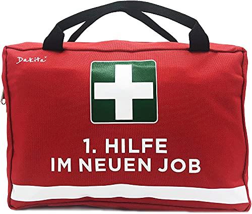 Dakita 1. Hilfe Tasche zum Abschied von Kollegen - 28x18x8cm...