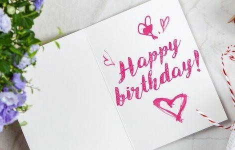 Geburtstagswünsche Happy Birthday Karte