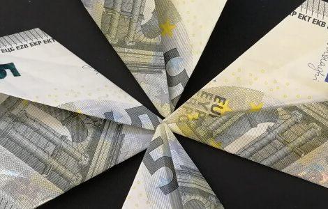 Geldgeschenke basteln: Glücksklee