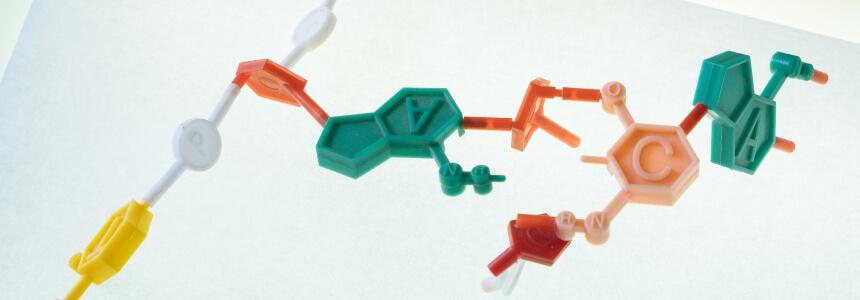 Chemische Struktur eines Elementes. Geschenke zur Habilitation.