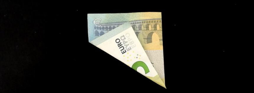Anleitung Geldschein falten
