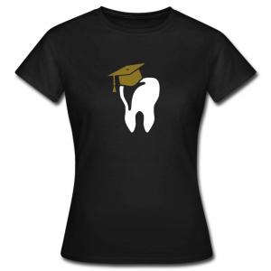 Tasse Zahn mit Doktorhut Geschenk für Zahnärzte