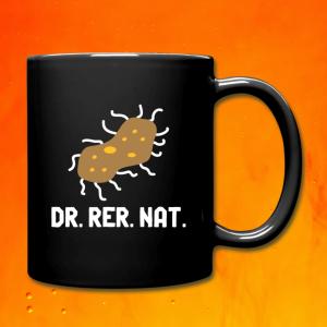 Tasse Bakterium Dr. rer. nat.