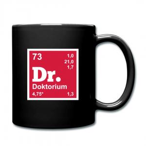Tasse Element Doktorium Nerd